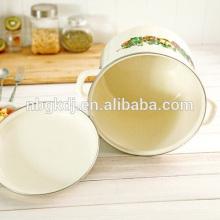 Китайский стиль эмаль покрытие штока кастрюли