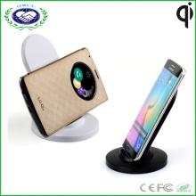 Heißer Verkauf 3 Spulen Qi drahtloser Aufladeeinheitshalter-drahtloser Telefon-Aufladeeinheit