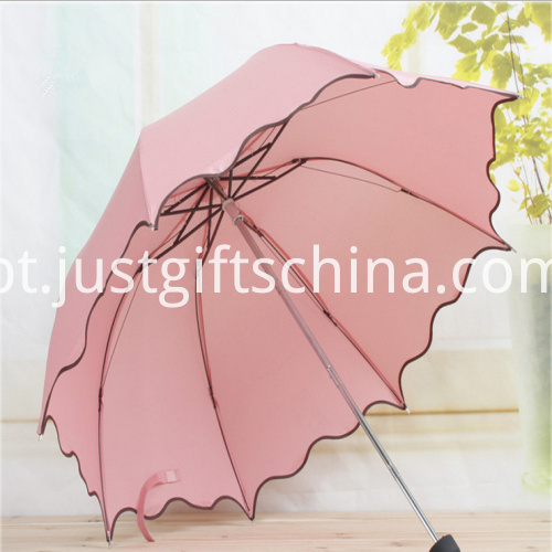 Promotional Falbala Folding Umbrella1