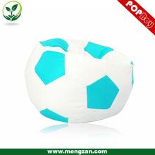 Moderno diseño adultos fútbol holgazán perezoso bolso otomano fresco frijol bolsa sofá
