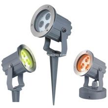 IP65 3W / 9W RGB3in1 luz del punto del jardín del LED