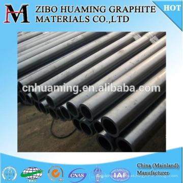tubo de grafito de alta densidad para la industria química
