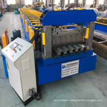 Metal Trapezoidal Sheet Floor Deck Roll Forming Machine/Floor Decking Cold Roll