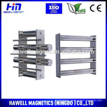 magnetic grate for product purity