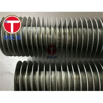 Air Fin Cooler Finned Copper spiral fin tube