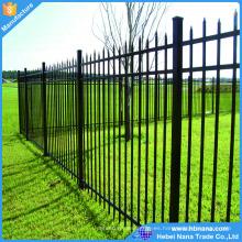 Cercas baratas baratas del jardín de la privacidad del metal de la alta calidad / cercas de metal plegables diversos colores