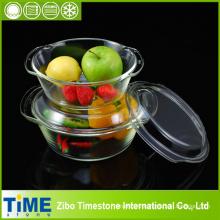 High Quality Borosilicate Glass Casserole Set (TM8011)