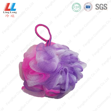 Conducive artificial shower scrub bath sponge with soap
