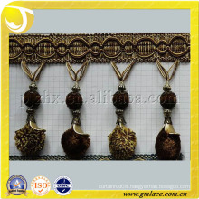 Pompom Fringe and Trims,High Quality Curtain Accessory Home Textile