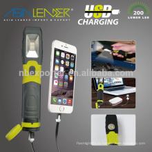 Líder da Ásia Produtos Lente Shatter-Resist 120 graus Light Spread Phone Charger Inspeção Lâmpada