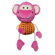 Naturkautschuk Affenförmige Latex Feeder Hundespielzeug