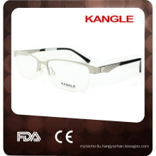 2017 Latest half rim metal optical eyeglasses, metal optical frame
