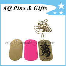 Metal Tags with Different Plating Color