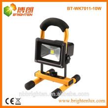 Фабричная поставка 10w перезаряжаемые непредвиденный светильник работы светильника с гарантированностью 3 лет