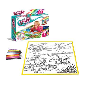 Juego de pintura de lona de juguete de aprendizaje educativo para niños (10254734)