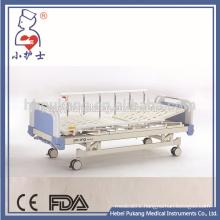 Aluminium alloy side rail two crank hospital bed