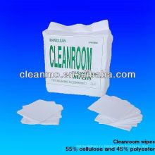 промышленные чистые салфетки 45%целлюлозы+55%полиэстер