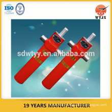 two stages hydraulic tipping cylinder for agriculture trailer