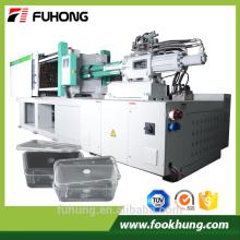Ningbo Fuhong thin wall fastfood container servo especial 268ton 2680kn 268T máquina de moldagem por injeção de alta velocidade
