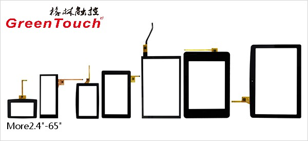 Small Size Capacitive Touch Screen