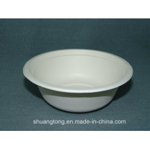 12.5oz/350ml Bowl (Bagasse Tableware) Biodegradable Food Plates Sugarcane Pulp