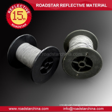 Nontoxic safety double side reflex thread