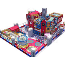 Детские развлечения Коммерческая крытая игровая площадка