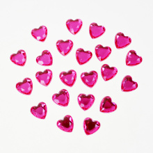 Heart Shape Strass Sticker