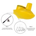 Sonar Fish Finder para Drone