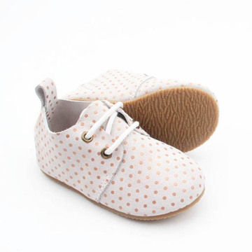 Baby Kids Moda Spot Sapatos Oxford