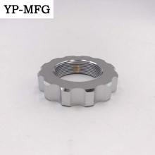Peças de maquinaria de trituração de giro do CNC do alumínio de lustro alto