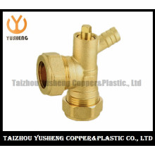 Brass Copper Fittings with Two Nuts (YS3115)