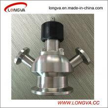 Valve d'étanchéité de serrage aseptique sanitaire en acier inoxydable
