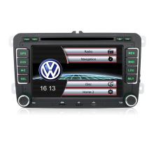 Voiture de navigation GPS de voiture DVD vidéo pour VW