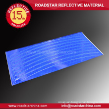 High visibility customized reflective wheel sticker