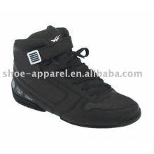 mais recente alta corte de basquete homens sapatos