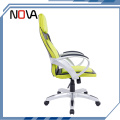 Best racing cheap yellow pc heated computer gamer gaming chair with headrest