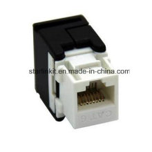 CAT6 UTP Tooless Keystone Jack 180 Degree for Patch Panel