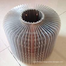 VMT 200W aluminum led high bay light round finned copper hot pipe heatsink