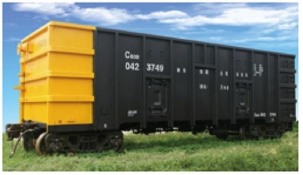 cusom Railway Open Top Freight