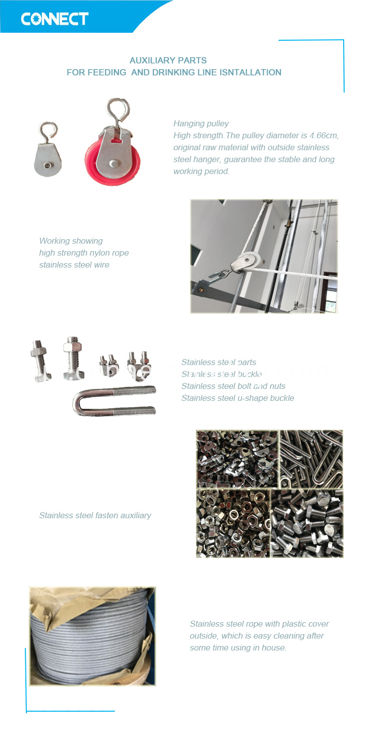 Stainless steel auxiliary parts