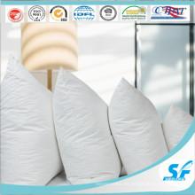 Blanco Cojín de tela de algodón 100% Funda de cojín de inserción