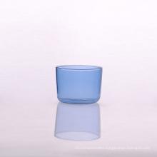 7oz Blue Airline Glass Borosilicate Glasses