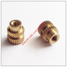 Ultrasonic Outer Straight -Knurled Inserted Nut