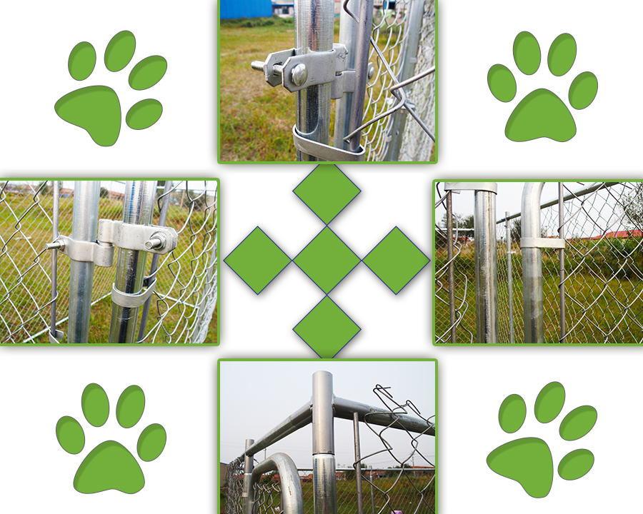 outdoor dog kennel cage