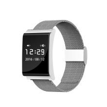 2017 Dispositivos Wearable Monitor de Freqüência Cardíaca Banda Inteligente Monitor de Atividade do Bluetooth Pulseira Inteligente X9 Além de Pressão Arterial Pulseira