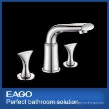 NOUVEAU DESIGN 3 trous en laiton mélangeur de robinet de bassin (PL206B-66S)
