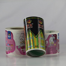 Etiqueta autoadhesiva impresa color de la etiqueta engomada de la alta calidad para el paquete