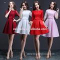 4 cores Meia manga vestido de jantar vestido multicolor vestido de festa vestido de festa