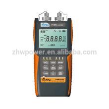 Комплект испытаний оптической потери FHM2B02, измеритель мощности волокна и источник лазерного излучения, оптический мультиметр с английским меню